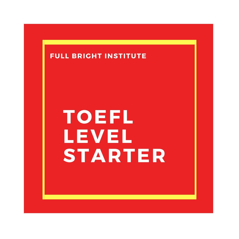 E-Course TOEFL Level Starter Paket Gold